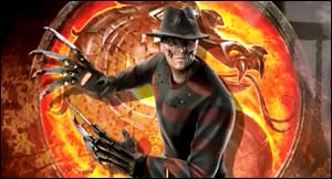 Freddy Krueger In Mortal Kombat 2011